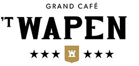 Logo Grand Café 't Wapen'
